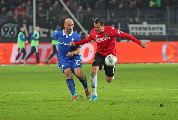 Patrick Herrmann, Hannover 96 - SV Darmstadt 98