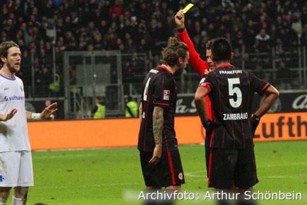 Darmstadt 98 gegen Eintracht Frankfurt Archiv