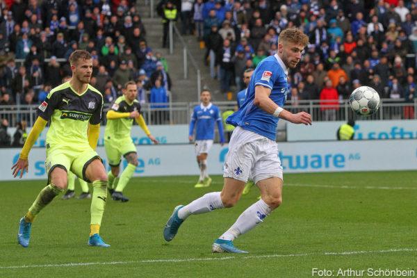 Felix Platte, SV Darmstadt 98 - VfL Osnabrück
