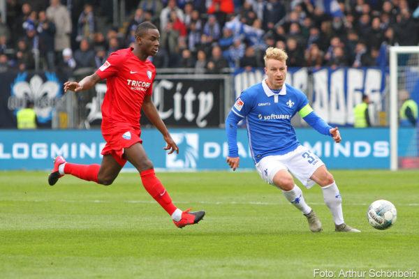 Fabian Holland, SV Darmstadt 98 - VfL Bochum