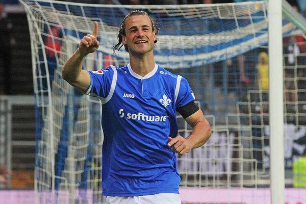 Yannick Stark, im Trikot des SV Darmstadt 98