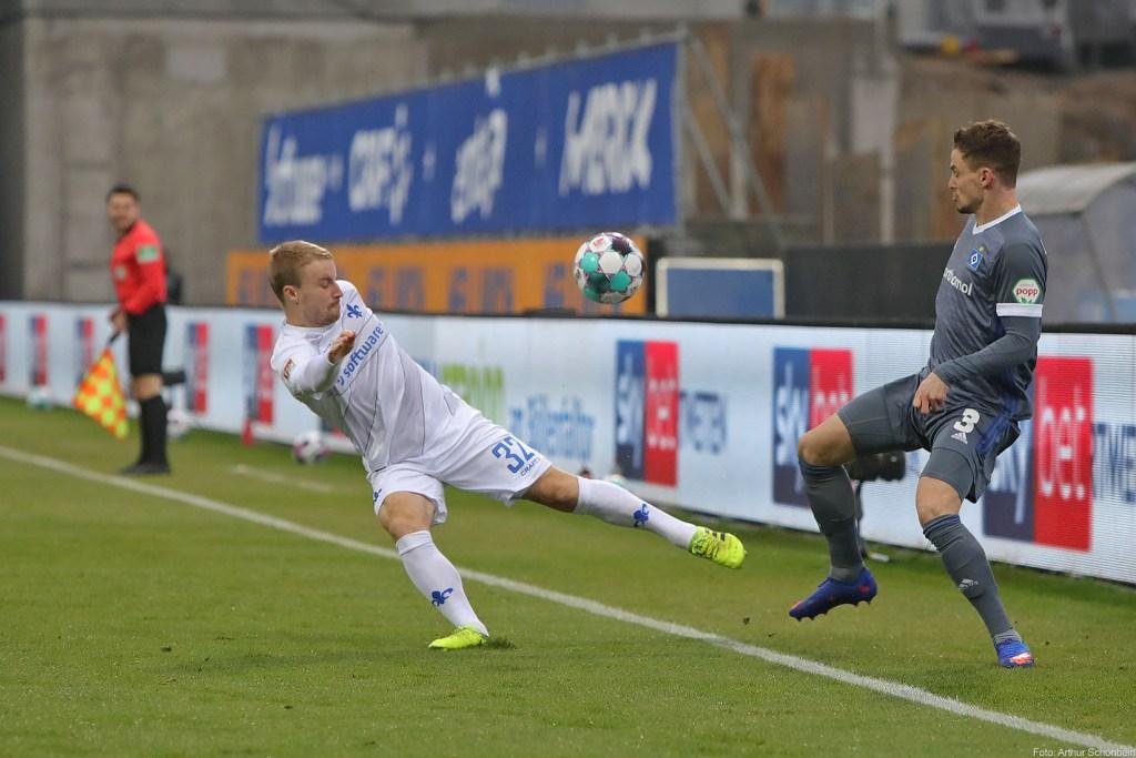 Fabian Holland, SV Darmstadt 98 - Hamburger SV