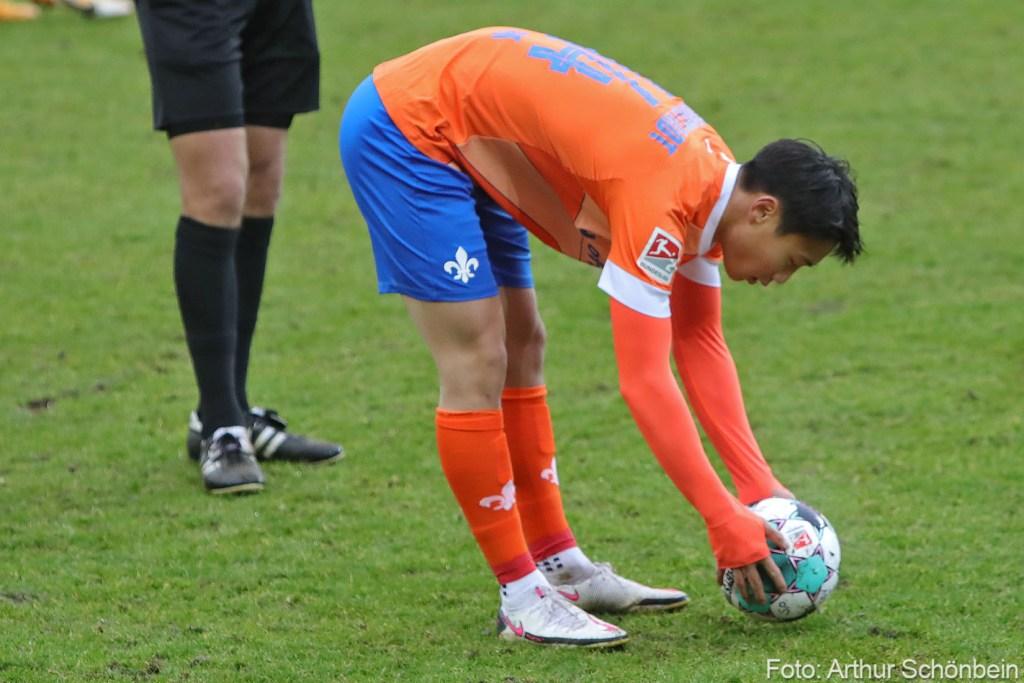 Seung-ho Paik, SV Darmstadt 98 - SSV Jahn Regensburg
