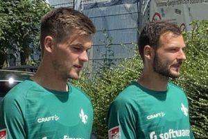 Morten Behrens und Steve Kroll, SV Darmstadt 98