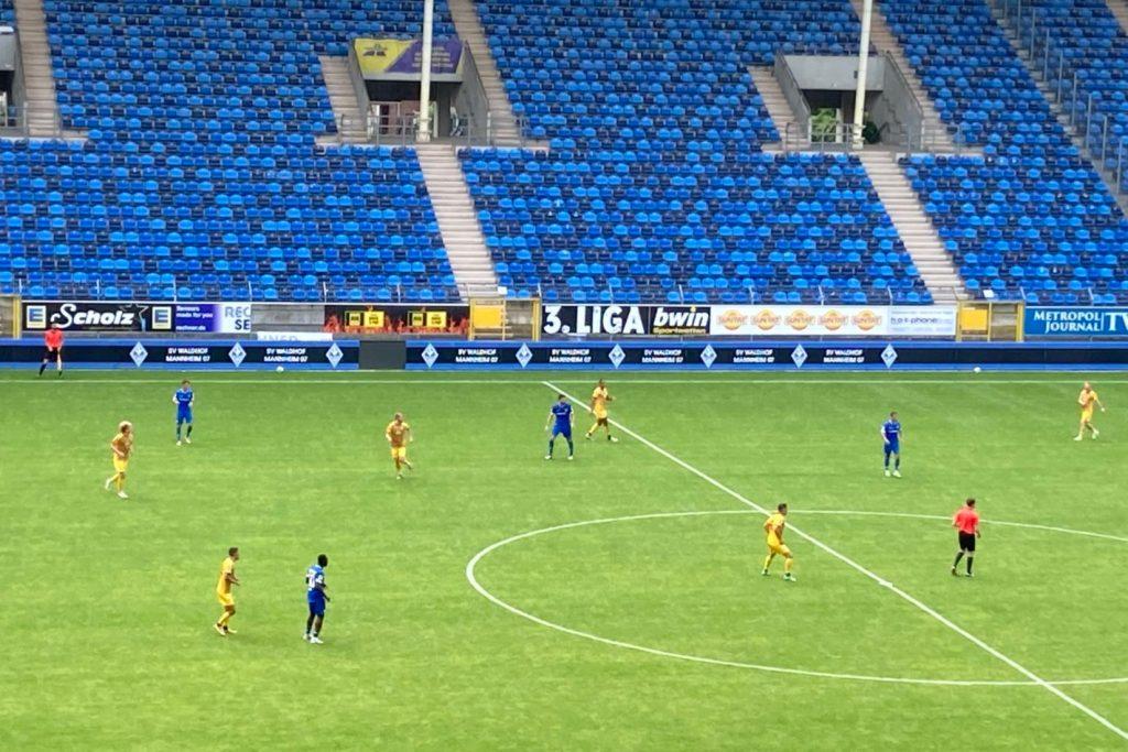 SV Darmstadt 98 - SV Waldhof Mannheim