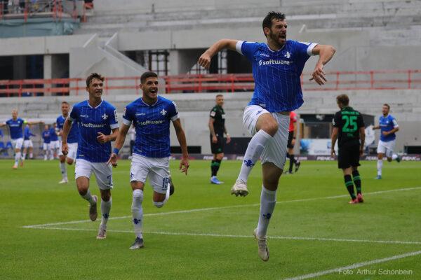 Luca Pfeiffer, SV Darmstadt 98 - Hannover 96