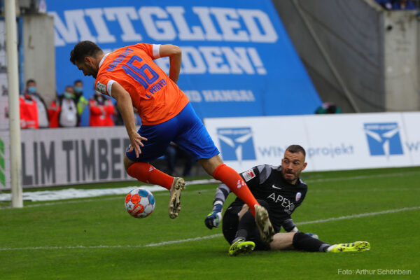 Luca Pfeiffer, FC Hansa Rostock - SV Darmstadt 98