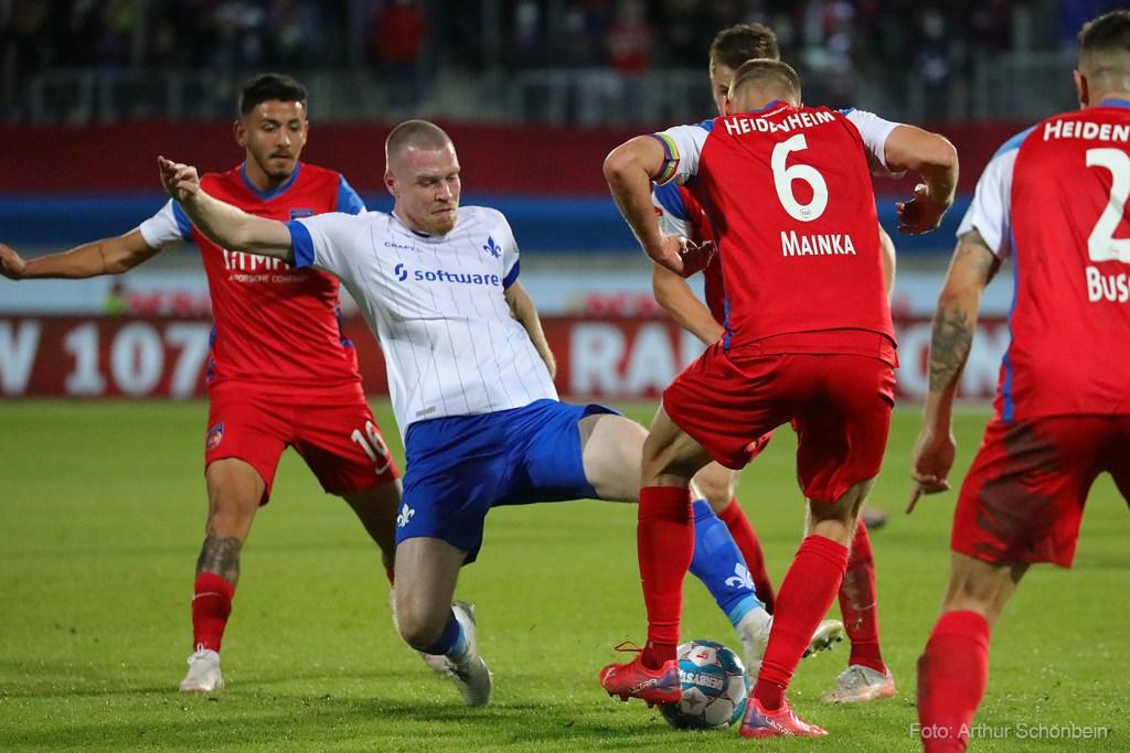 Thomas Isherwood, 1. FC Heidenheim - SV Darmstadt 98