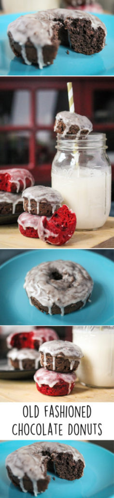 Old Fashioned Chocolate Donuts