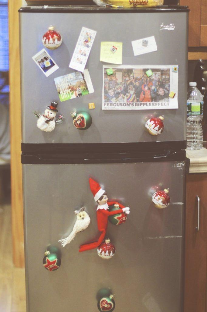 Elf on the Shelf: Fridge Ornaments