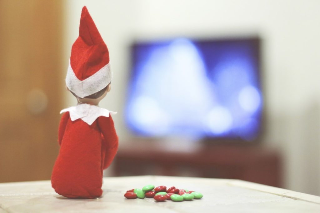 Elf on the Shelf: Watching the Rockefeller Tree Lighting