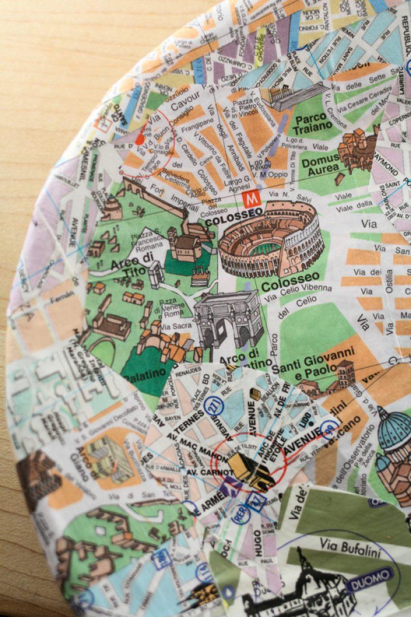 DIY Map Plate