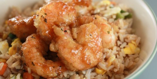 Honey Fried Shrimp