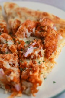 Fried Buffalo Chicken Pizza