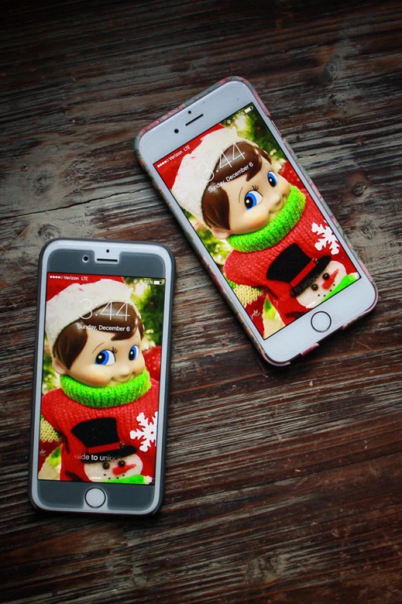 Elf on the Shelf Phone Wallpaper