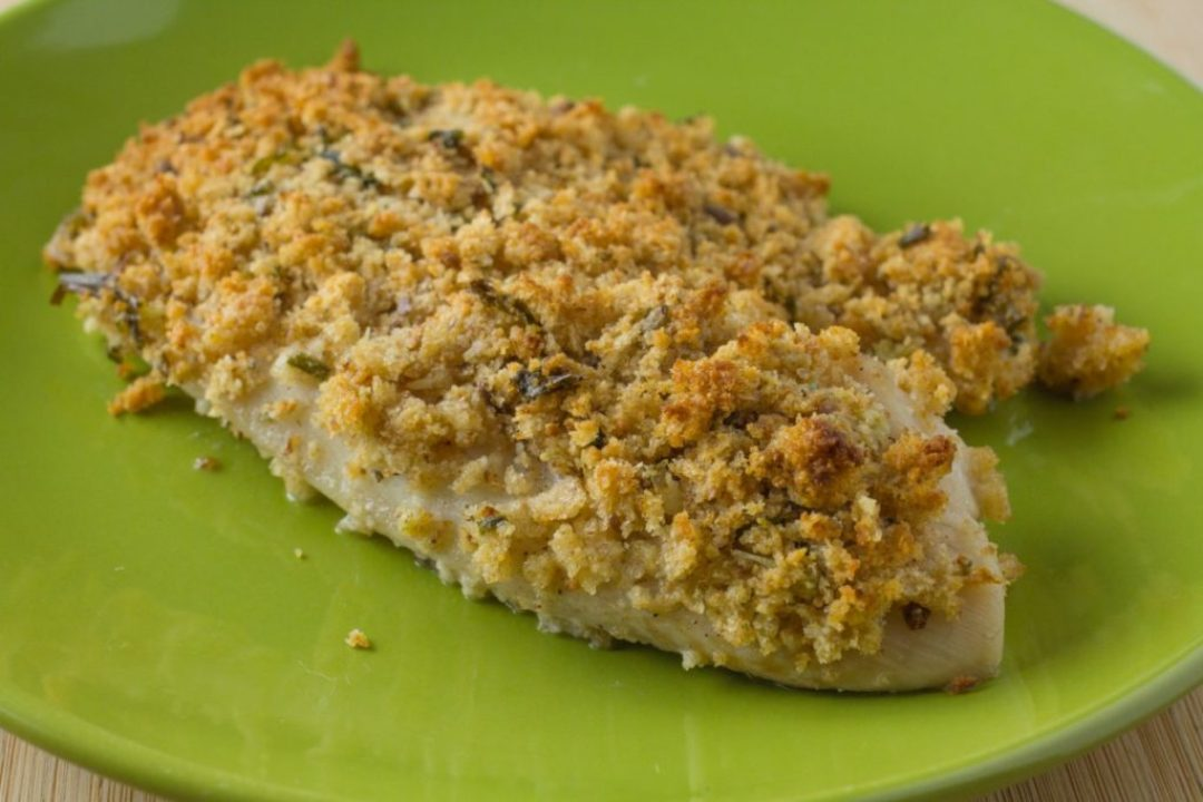 Garlic Parmesan Baked Tilapia
