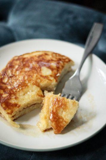 Buttermilk Pancakes using Leftover Buttermilk