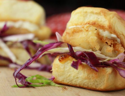Fried Fish Sandwiches