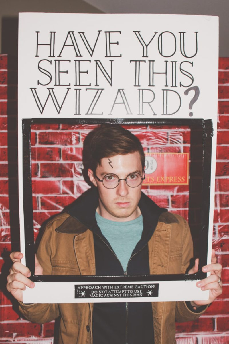 DIY Have You Seen This Wizard