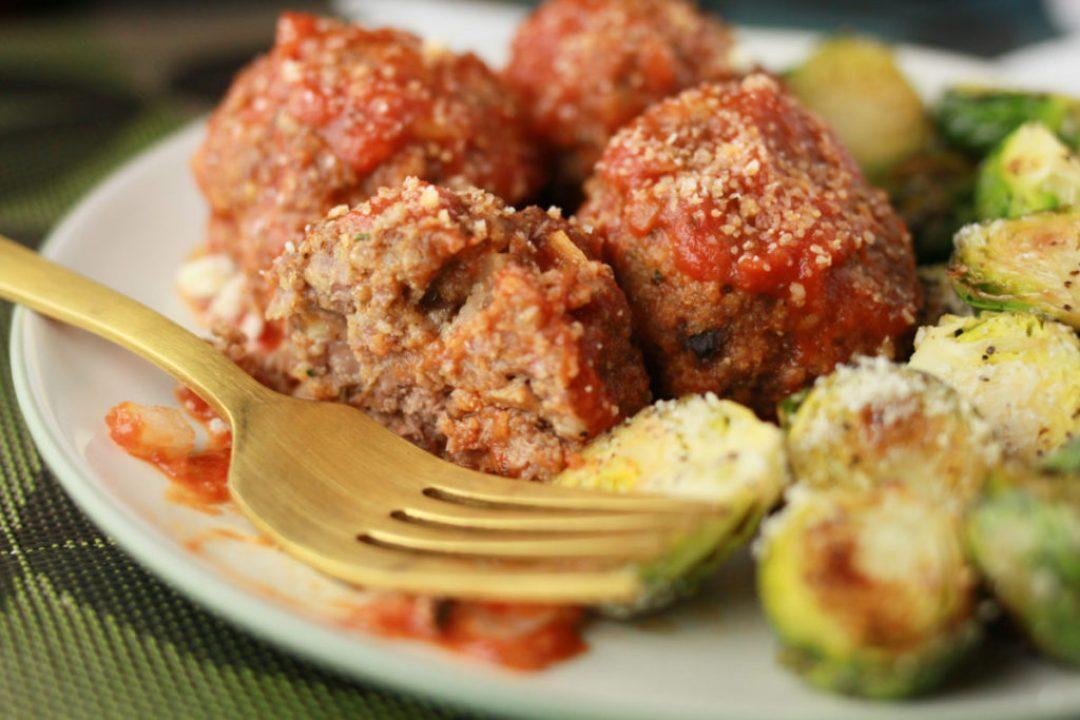 Beef and Mushroom Meatballs