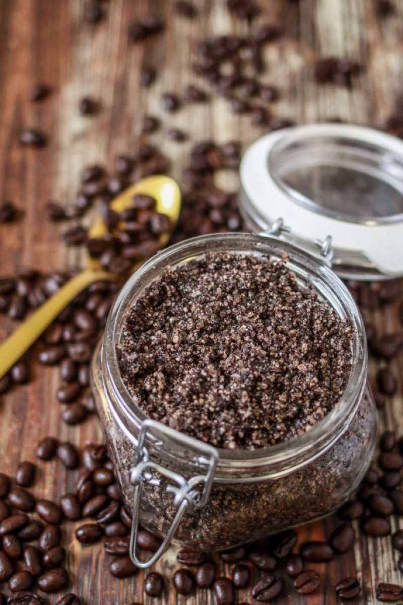 DIY Coffee Scrub