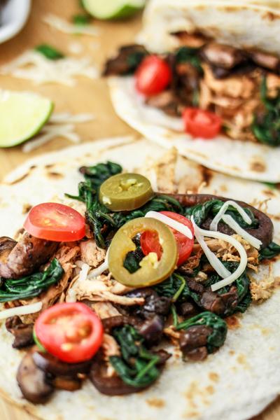 Margarita Chicken Fajitas