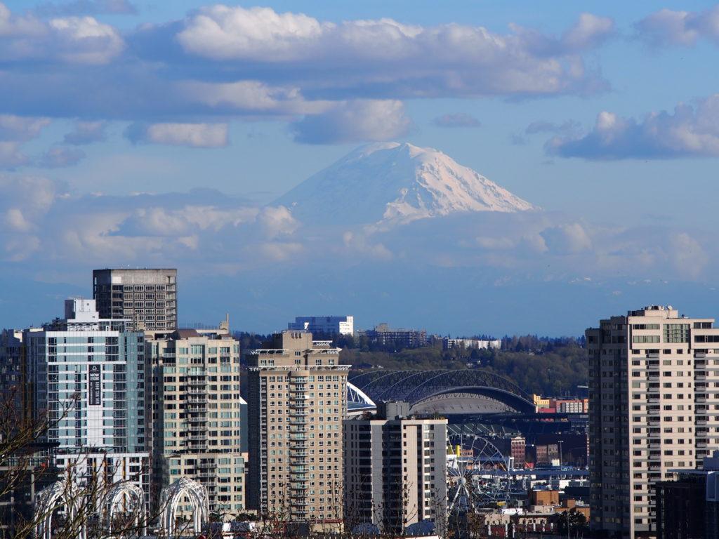 Vue depuis Kerry Park à Seattle