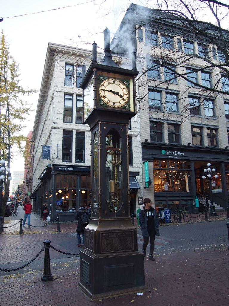 Steam Clock à Vancouver