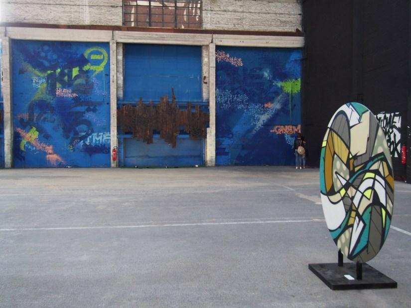 """Artiste fresque: Loic Mondé - """"Concrete Jungle"""""""