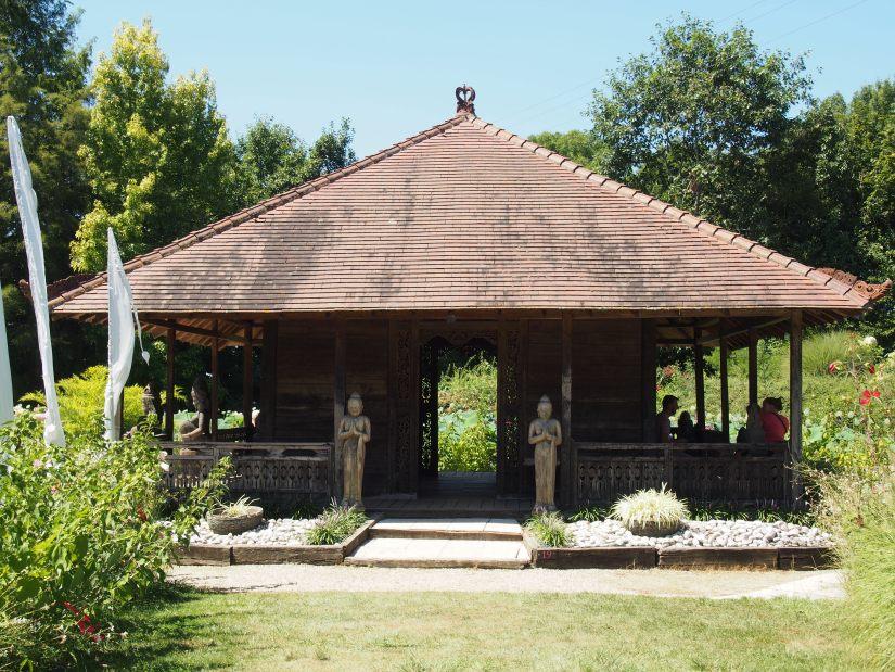 Temple du lotus - Jardins des Martels