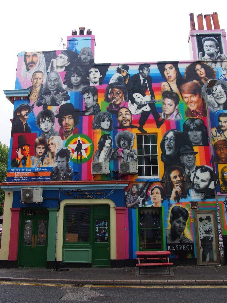 Street-art Brighton
