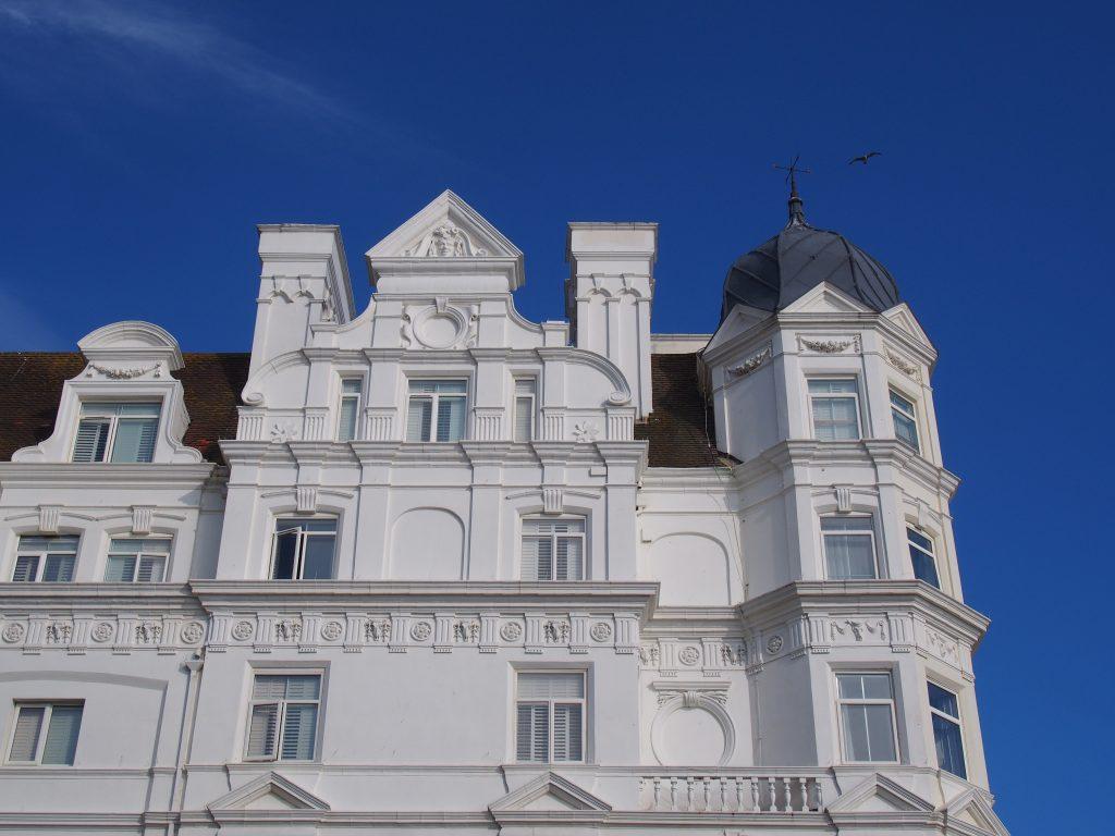 Les immeubles de Brighton