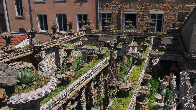 Lyon insolite : Le jardin Rosa Mir