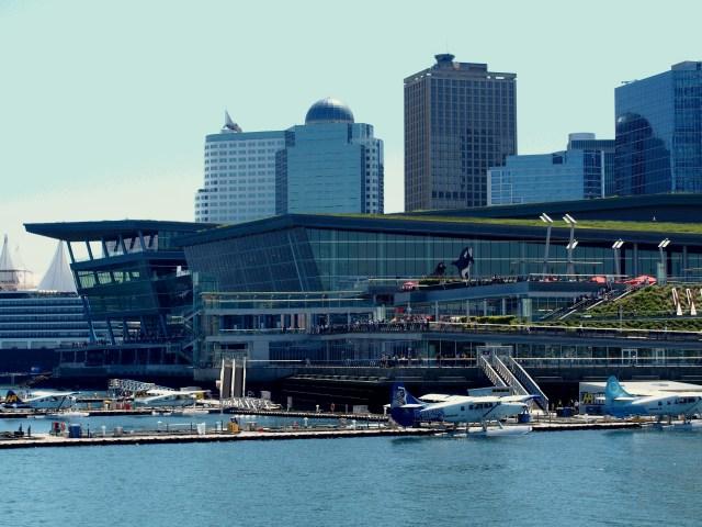 Le centre des congrès de Vancouver