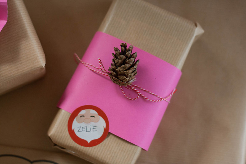 Emballage Cadeau De Noel Original Top Papier Cadeau Nol