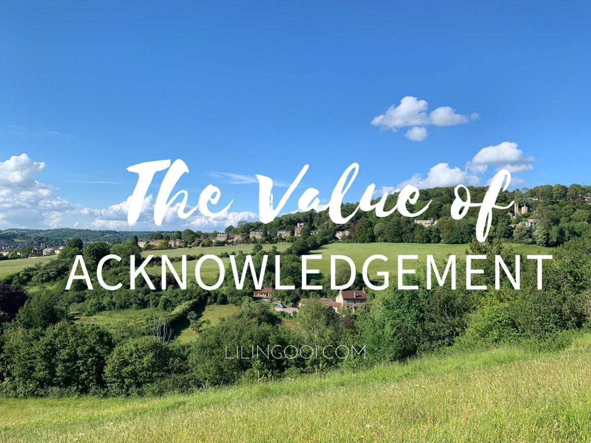ValueofAcknowledgement