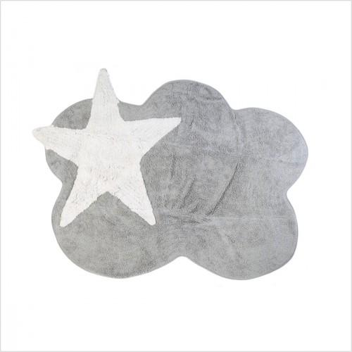 https www lilipouce com tapis enfant nuage gris et c3 a9toile blanche cadeaux d c3 a9co chambre b c3 a9b c3 a9 enfant html
