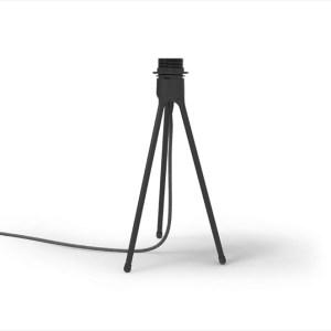 Table Tripod matt black H 36 cm