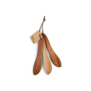 Smörkniv Acacia 3-pack