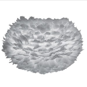 Eos medium light grey Ø 45 x 30 cm