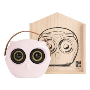 aOWL, Bluetooth-högtalare, Dusty Pink