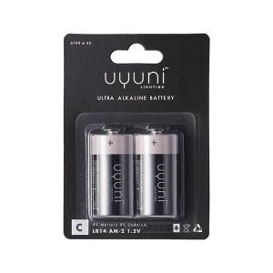 UYUNI – C Batteri 2-p , 1,5V, 6700mAh