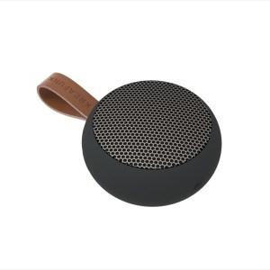aGO, black edition w. gun metal grill, Mini Bluetooth-högtalare