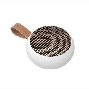aGO, white w. rose gold grill, Mini Bluetooth-högtalare