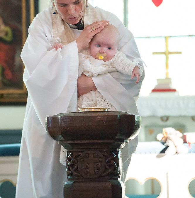 Bildbomd från Olivias dop
