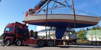 Felles sjøsetting av båter på Kokkenes 2020