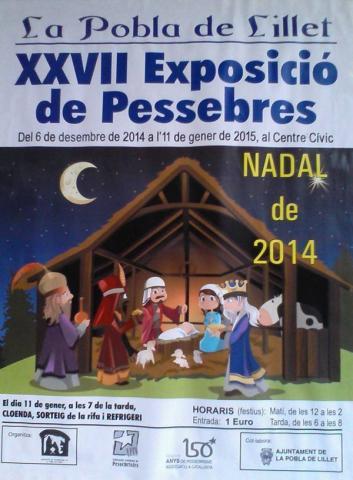 20141206_XXVII Exposicio de Pessebres 2014-2015