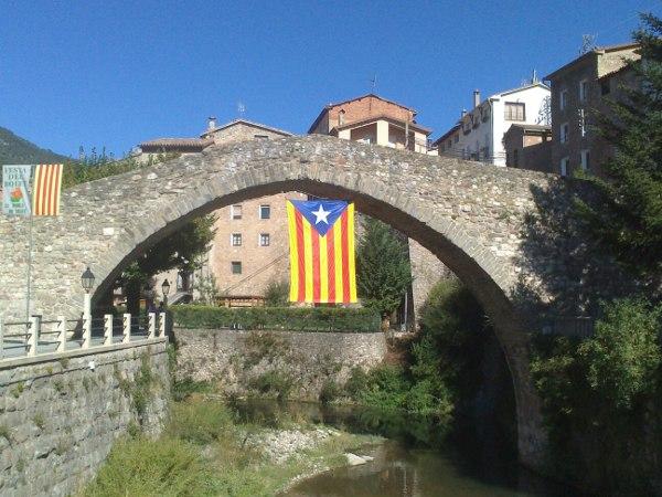 Estelada pont vell 600