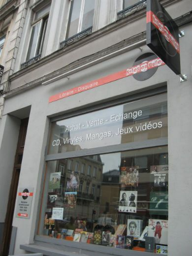 Disquaires Librairies Papeteries Gambetta Wazemmes
