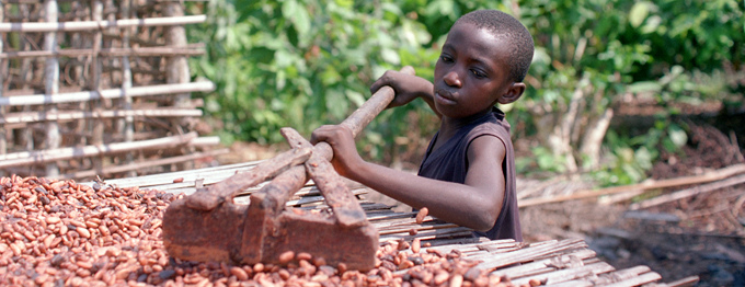 Chocolate and Trafficked Children